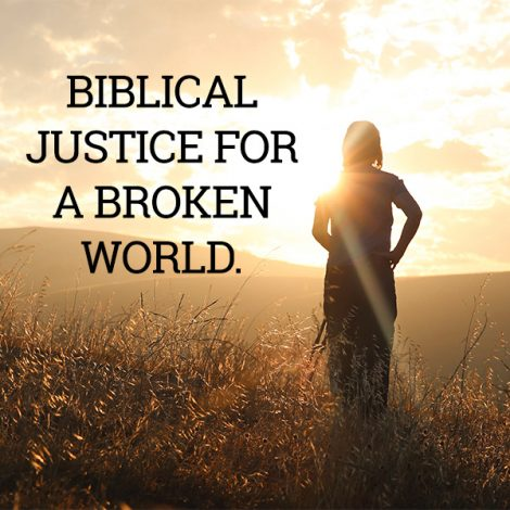 biblical justice books